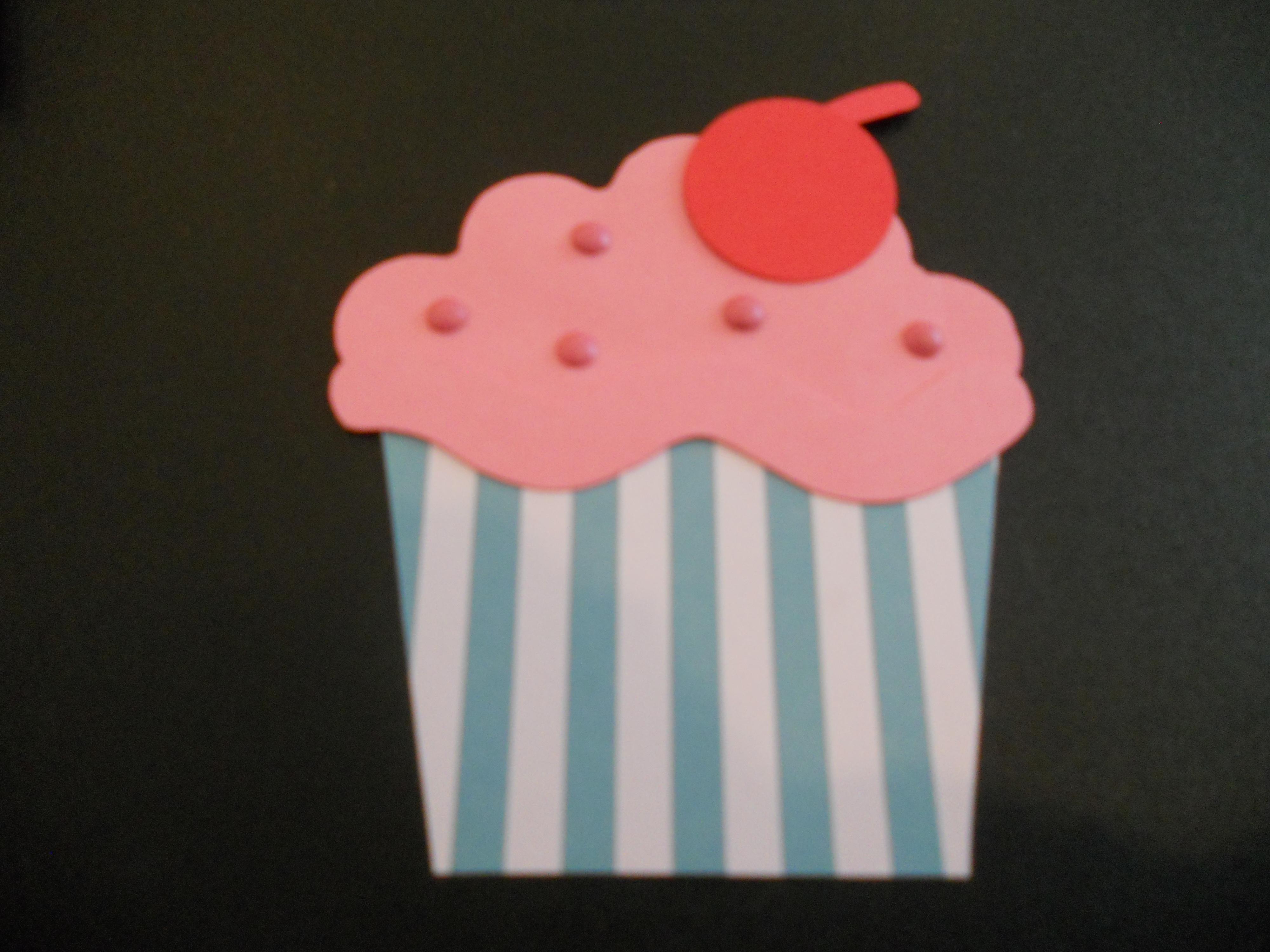 DIY cupcake birthday card – Cupcake Birthday Card