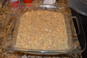 3rd layer: crumbs